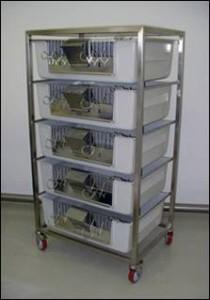 Клеточная батарея для морских свинок TGM-5
